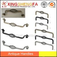 Fero kago tenilo Iron birdcage handle brass cane handles