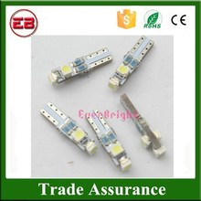 Cheap Good Quality Cheap carled T5 194 168 1210 3SMD 3 Led Light PCB white led interior car lights Led Bulbs Lamp Gauge Lamps