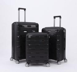 * high quality PP trolley luggage
