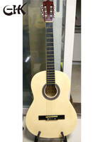 Hot selling Chinese musical instruments 6 strings 39inch acoustic guitar with cheap price