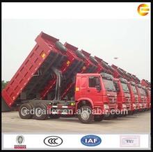 nuevo 2014 sino howo camiones de volteo 6x4 30t volcado de camiones para la venta