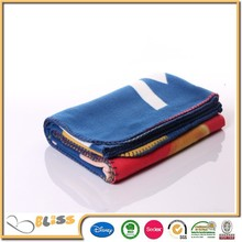 10 years experience 100 polyester high quality thick polar fleece blanket