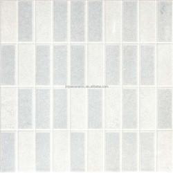 foshan manufacturer excellent material embossed verona white ceramic tile
