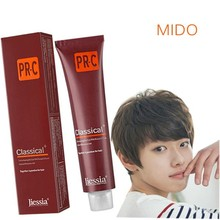 Aluminium tube hair color cream for men