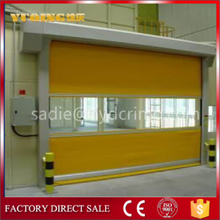 YQR-01 pvc high speed door, new turkey europe crown pvc door