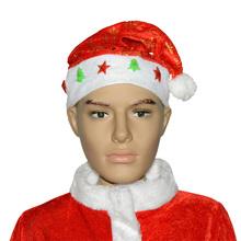 Hot Selling Funny Glitter Santa Hat For Sale