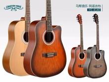 """acoustic guitar CARAVAN brand china 40"""" factory guitar"""