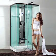 Beauty New Glass Computerized Freestanding Steam Shower Bathroom (DQ-A8839)