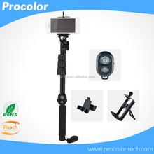 Family photo heavy duty selfie stick for digital cameras, SLR cameras smartphone mini monopod