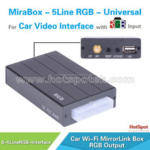 Wholesale competive wifi gps box mirror link for pioneer car dvd player