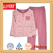 Factory OEM Wholesale Solid/printed Cotton custom printed pants