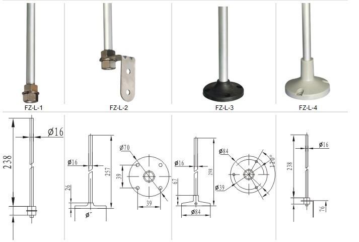 lta207 dc12v 24v ac110v 220v led multifunctional installation signal tower  signal tower