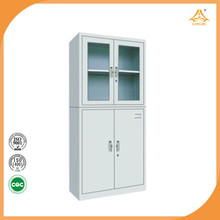 Steel glass door cabinet diy storage cube cabinet wardrobe with different modles