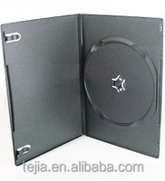7mm PP Black Single Disc Dvd Case Wholesale