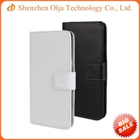 Flip leather wallet for Samsung A3 genuine real leather case cover