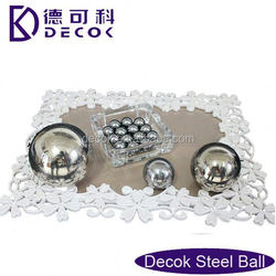 RoHS 0.35 to 200 mm low carbon steel balls baoding iron ball