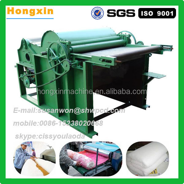 150 Kg Per Hour Professional Scutcher Cotton Opener Fabric