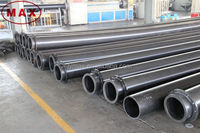 "8"" 10"" 12"" High Temperature Plastic UHMWPE Pipe for Thermal Power Plant"