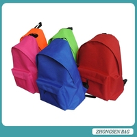 School Backpack 2015 Good quality 25L cheap high school backpack wholesale nylon OEM school backpack