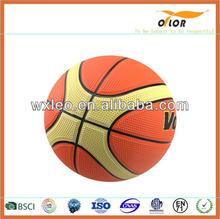 custom printed logo basketball fashion colorful basketball