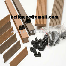 ABS plastic decking clip for decking project
