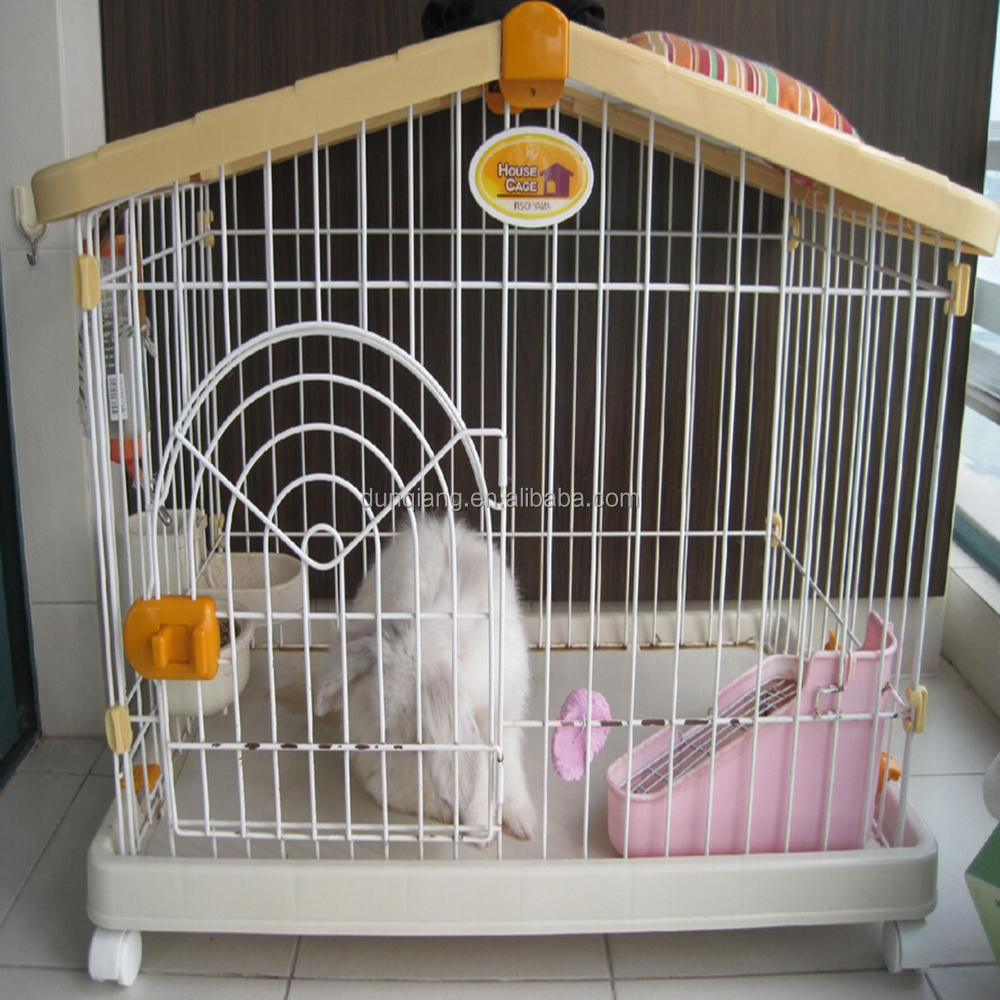 Cheap rabbit cages pvc coated rabbit cage buy wire for Buy guinea pig cage
