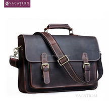 high design computer bag leather