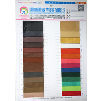 Present box cover leather fabric