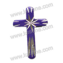 Various colours fashion Plastic Crucifix cross