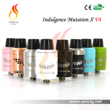 Wholesale alibaba Unicig Mutation X V4 rda atomizer VS hingwong rex dry herb vaporizer