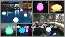 RGB LED light balloon shape garden decoration 2014