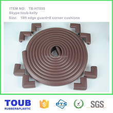 high quality baby safety rubber foam sharp edge corner protector