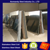 food grade stainless steel sheet 430 0.8mm hairline finish