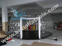 Good quality transparent inflatable clear dome tent bubble tent for sell