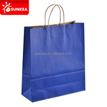 Custom logo brand name printed boutique luxury paper shopping bags