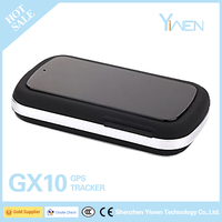 Yiwen GX10 Mini anti-theft car/fleet/truck/motorcycle vehicle gps tracker with cellphone app