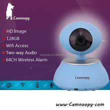 Professional Produce CMOS Sensor 10m N-Vision 1.0megapixel plug and play wireless IP Camera