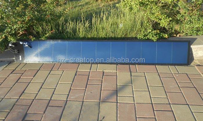 100 flexible panneau solaire silicium amorphe solaire cellules solaires panneaux solaires id. Black Bedroom Furniture Sets. Home Design Ideas