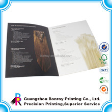 Different style free reference hair color catalogue printing
