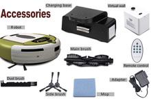 Inteligente automático de limpieza del piso vacío robot limpiador, mini robot limpiador de vacío
