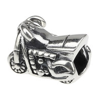 Wholesale Motorcycle 925 Sterling Silver Charm Jewelry for European Bracelet