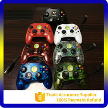 Wired cable usb double vibration game joystick controller for xbox First Generation
