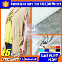linen fabric composition solid best price for fashion dress