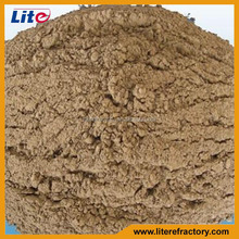 Manufacture high temperature refractory electric arc furnace bottom ramming mix