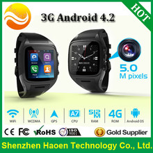 Factory Military 1.54Inch 3G Android Smart Watch IP67 Waterproof 3G Watch Phone Bluetooth4.0 WIFI GPS Smart Watch Phone 3G US