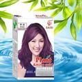 planta de ácido amino púrpura oscuro color de pelo tinte para el cabello