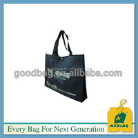 colorful non woven tote bag with hard bottom insert