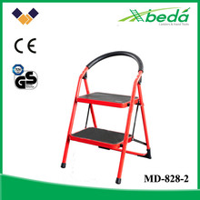 safety most fashion folding step ladder steel home design stairs (MD-828-2)
