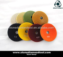 All Grits 100mm Concave Polishing Pads