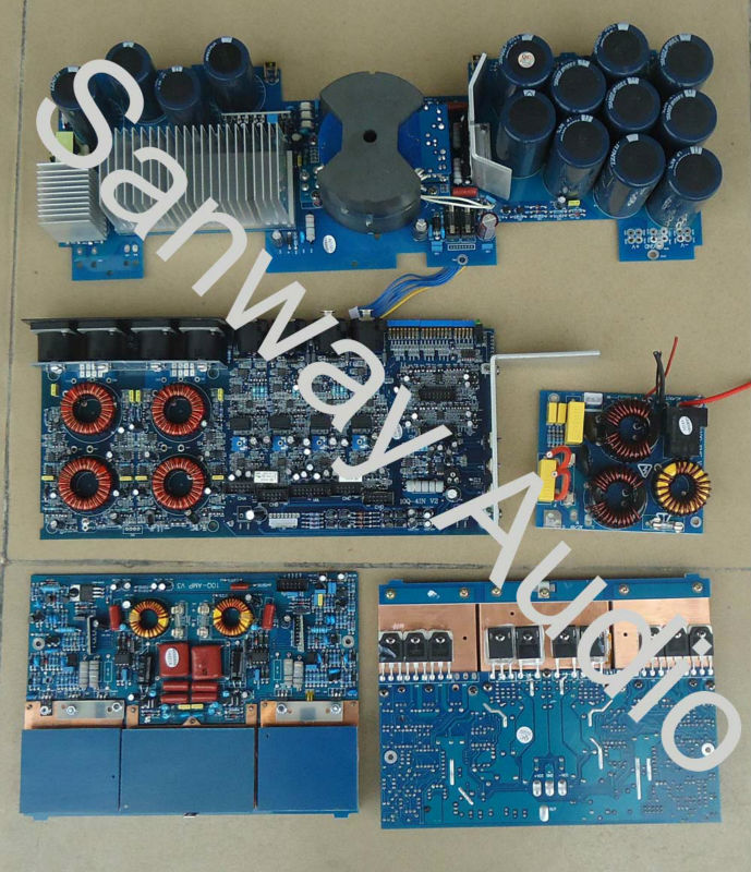FP6000Q 1500W 2 ohm 4 Channel Speaker Audio Sound Amplifier